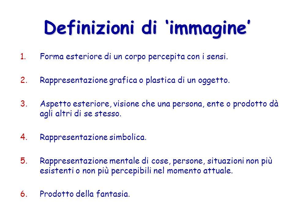 Definizioni di 'immagine'
