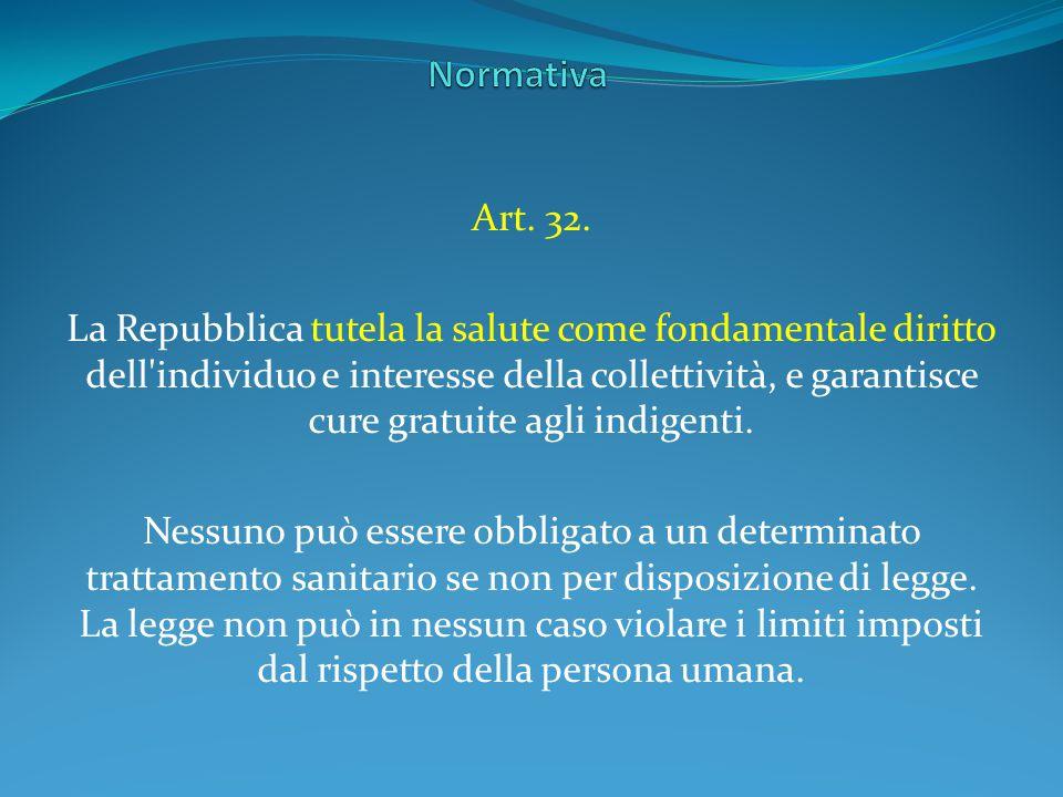 Normativa Art. 32.