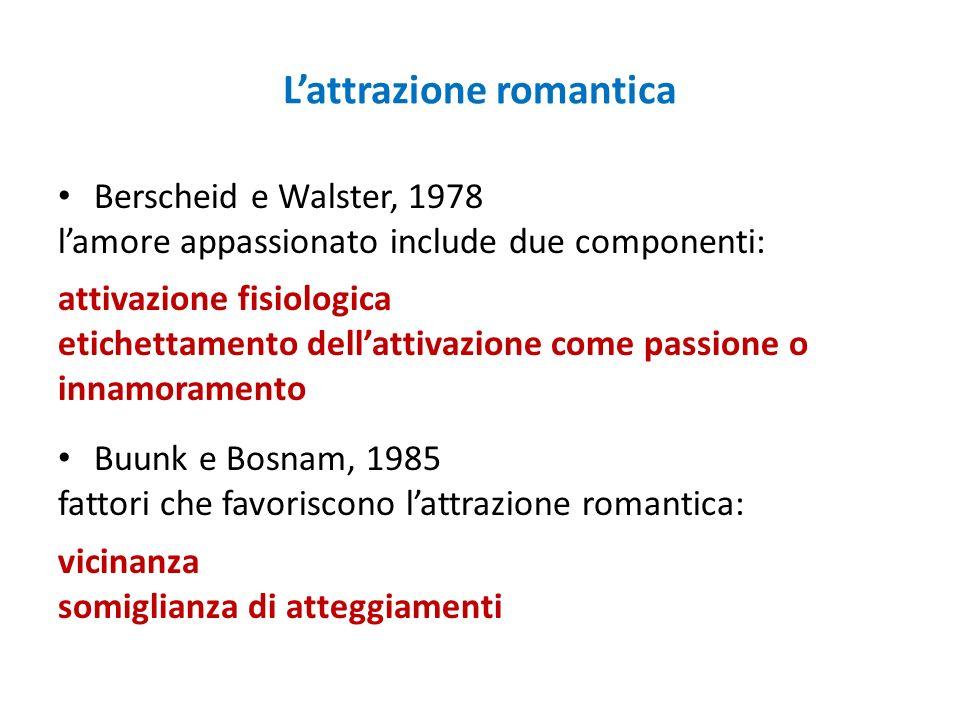 L'attrazione romantica