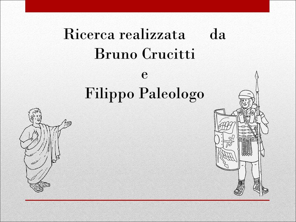 Ricerca realizzata da Bruno Crucitti e Filippo Paleologo