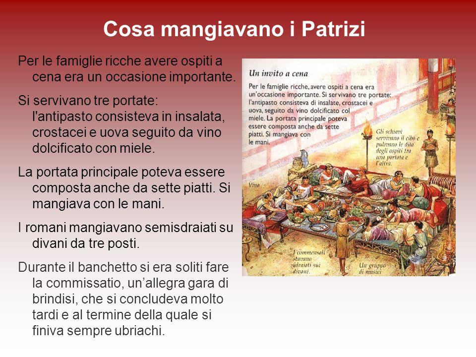 L alimentazione romana ppt scaricare for Cibi romani