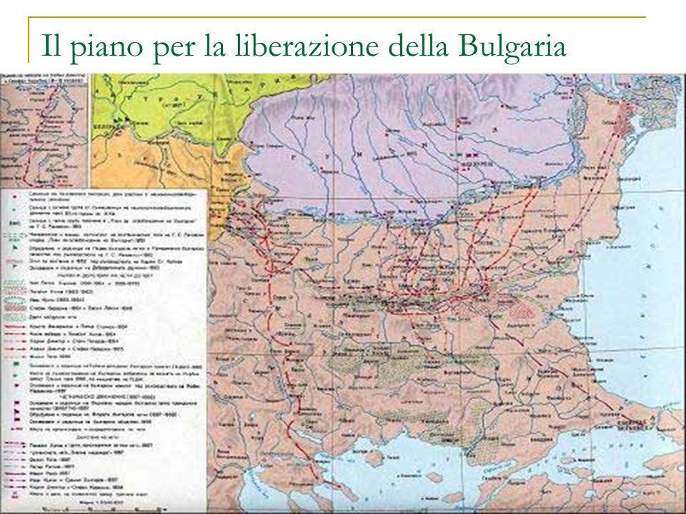 Il piano per la liberazione della Bulgaria