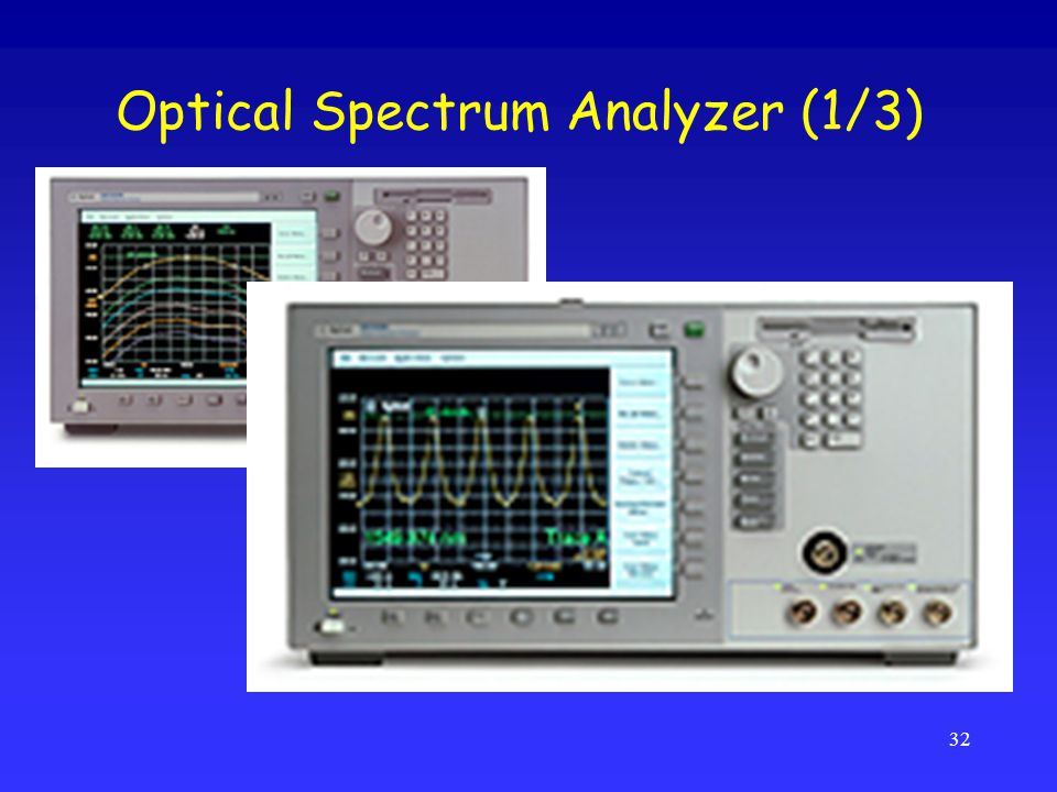 Optical Spectrum Analyzer (1/3)