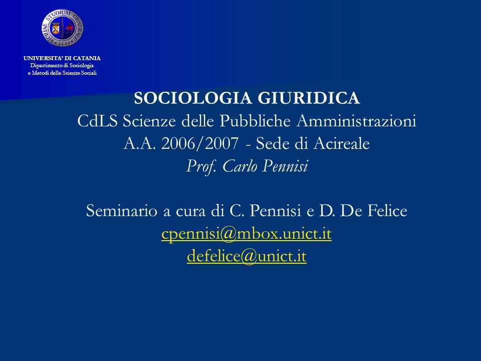 CdLS Scienze delle Pubbliche Amministrazioni