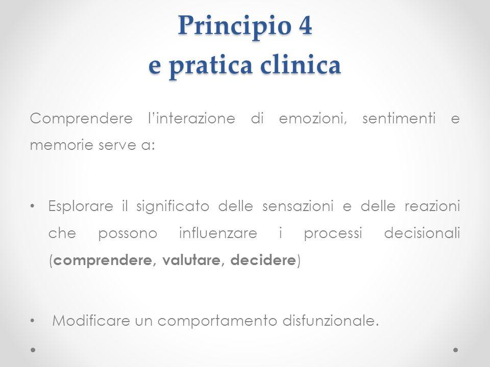 Principio 4 e pratica clinica