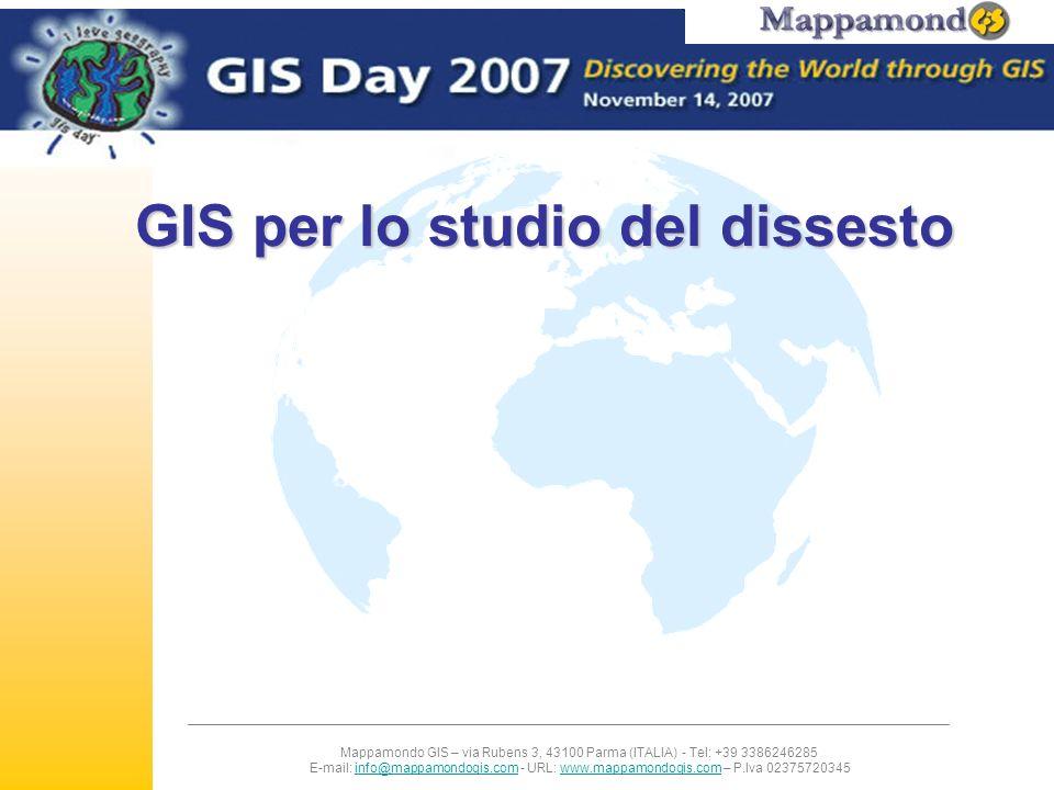 GIS per lo studio del dissesto