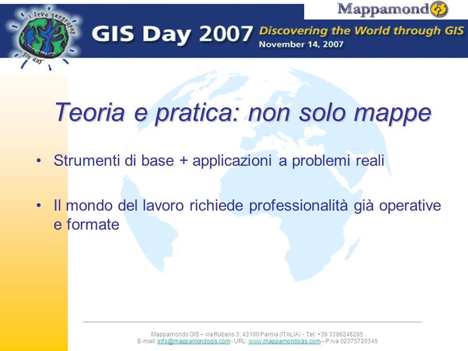 Teoria e pratica: non solo mappe