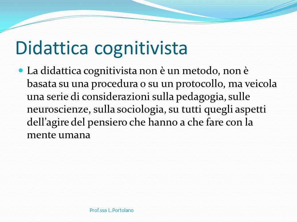 Didattica cognitivista