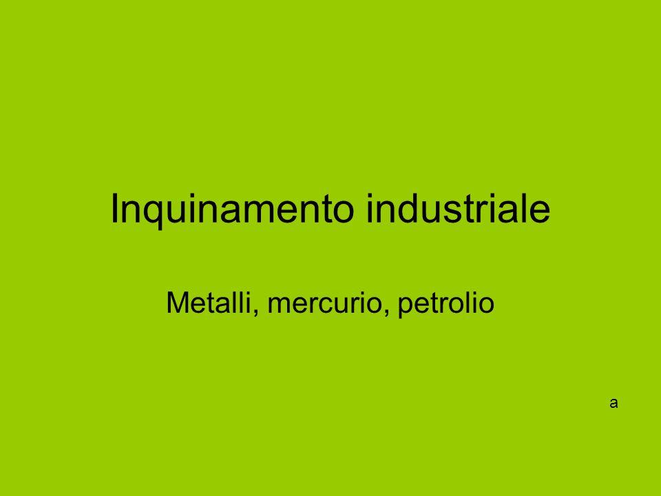 Inquinamento industriale