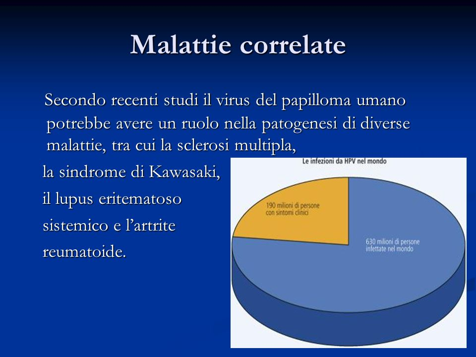 Malattie correlate