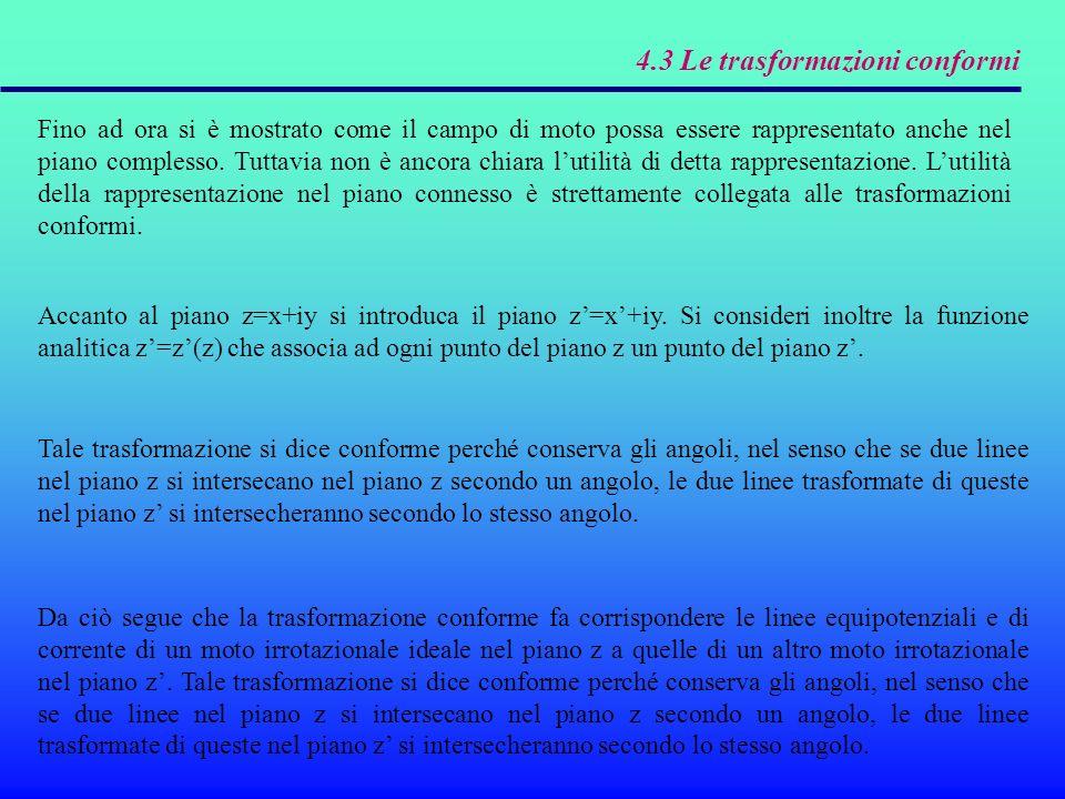 4.3 Le trasformazioni conformi