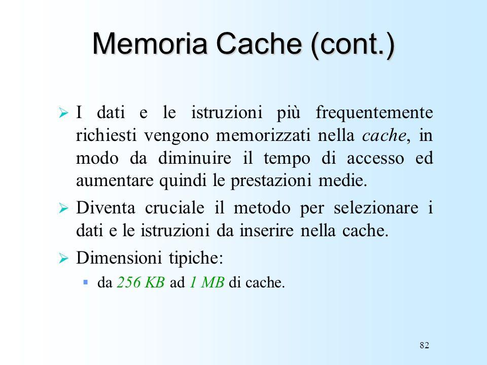 Memoria Cache (cont.)