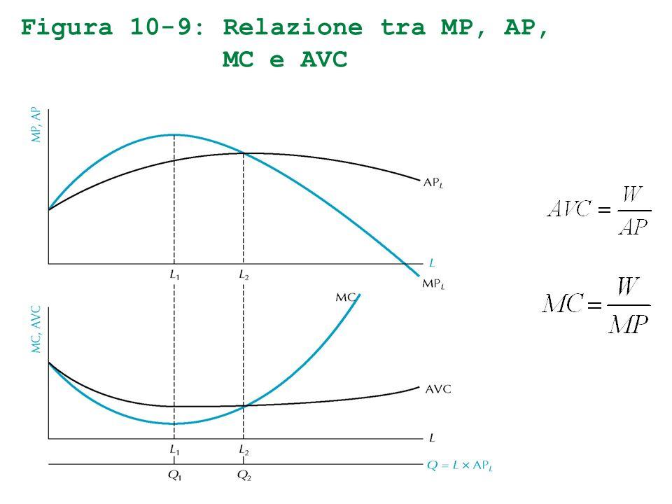Figura 10-9: Relazione tra MP, AP, MC e AVC