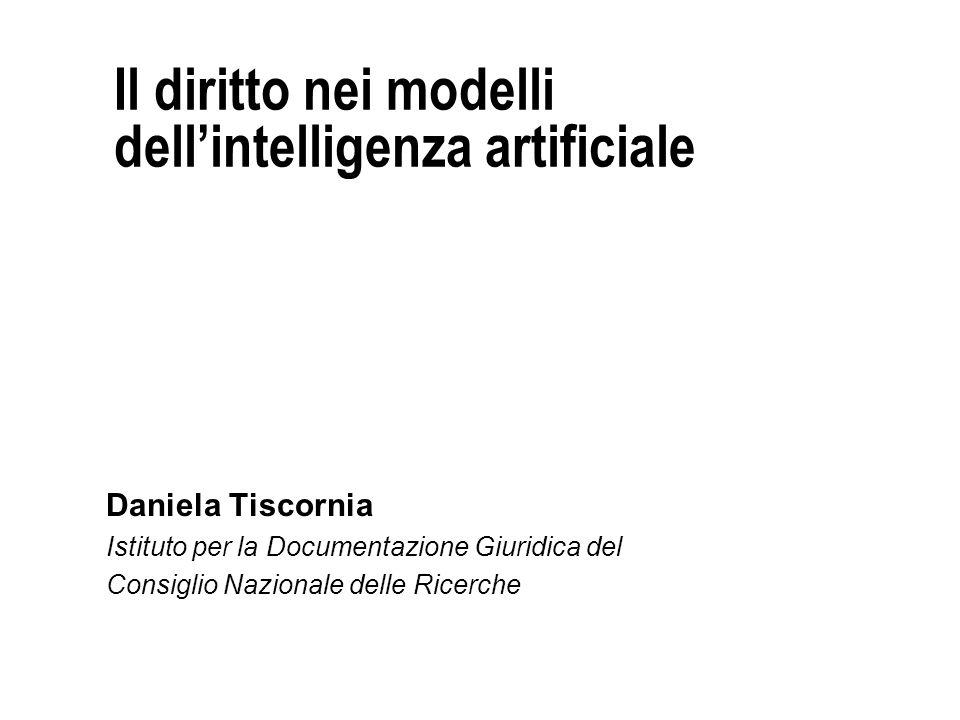 Il diritto nei modelli dell'intelligenza artificiale