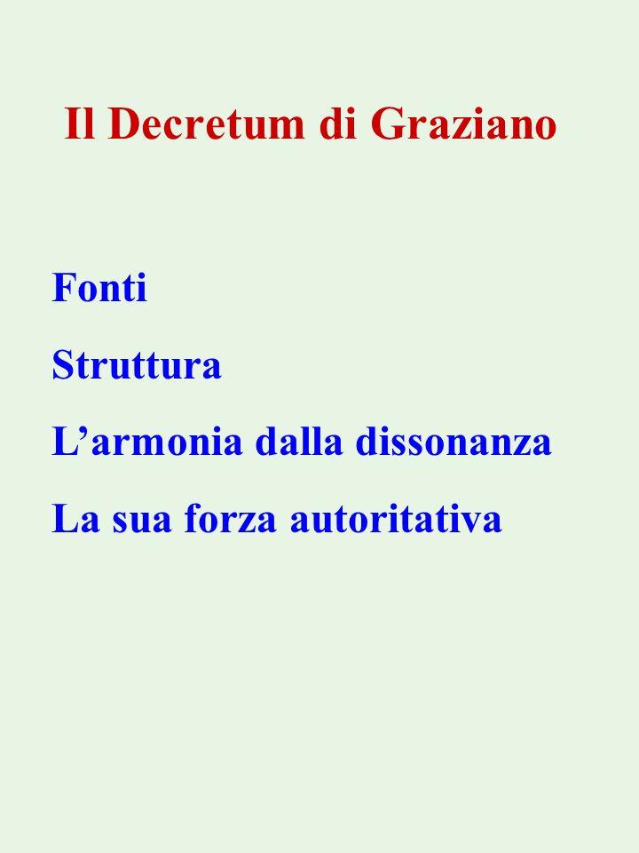 Il Decretum di Graziano