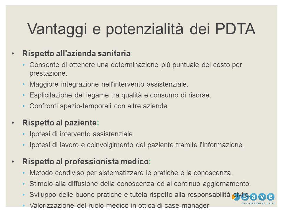 Vantaggi e potenzialità dei PDTA