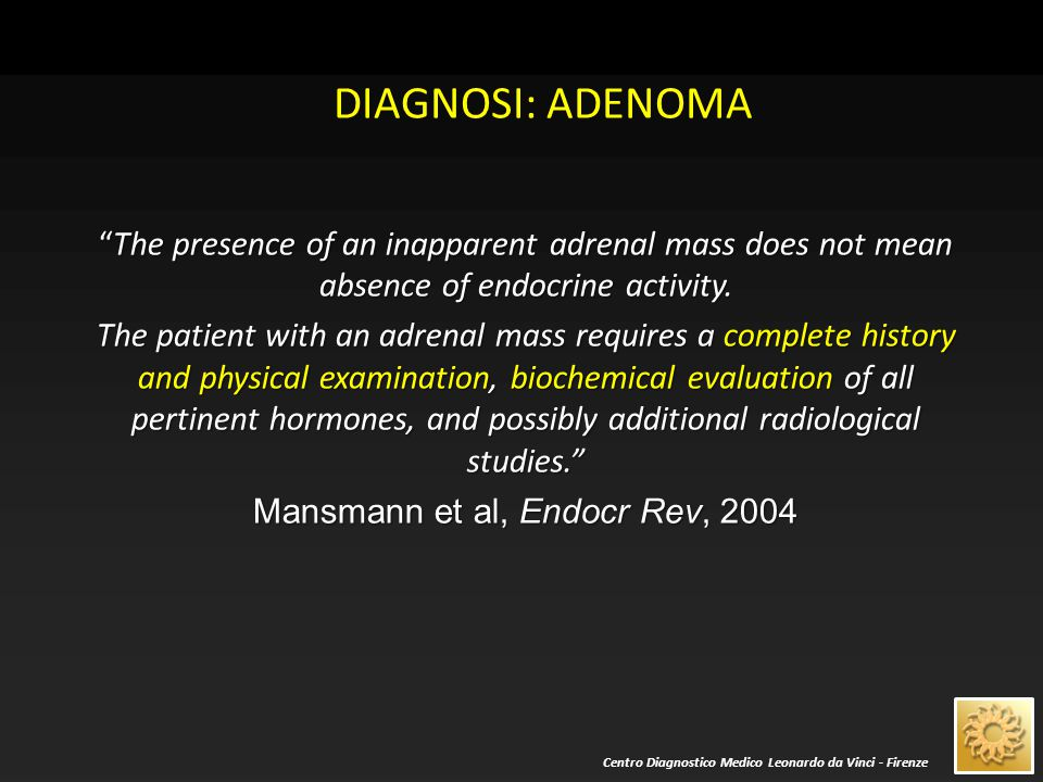 Mansmann et al, Endocr Rev, 2004