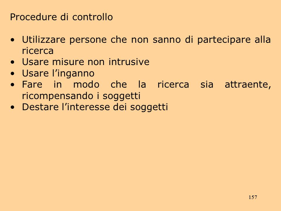 Procedure di controllo