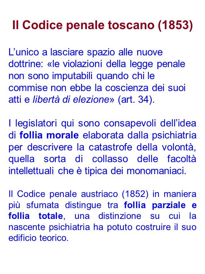 Il Codice penale toscano (1853)