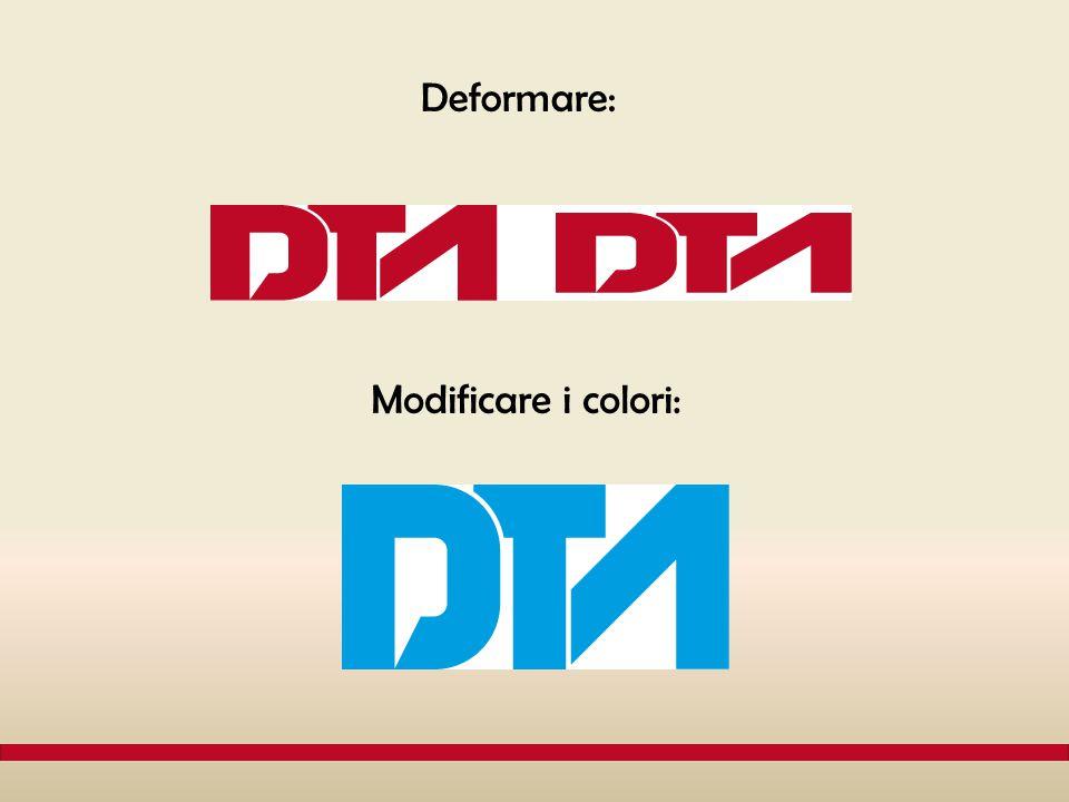 Deformare: Modificare i colori: