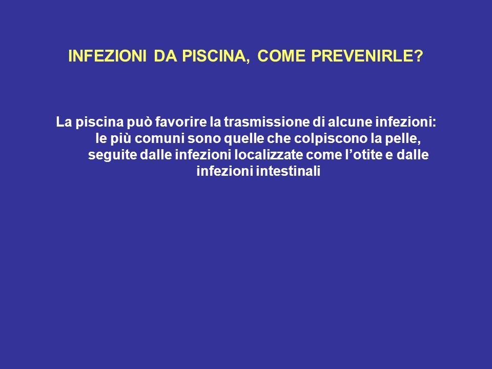 INFEZIONI DA PISCINA, COME PREVENIRLE