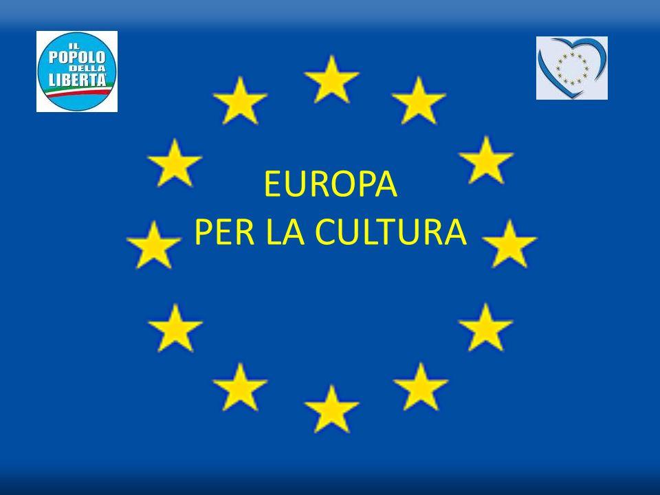 EUROPA PER LA CULTURA