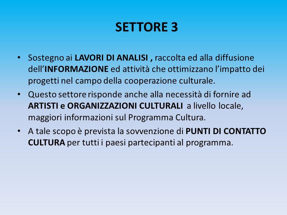 SETTORE 3