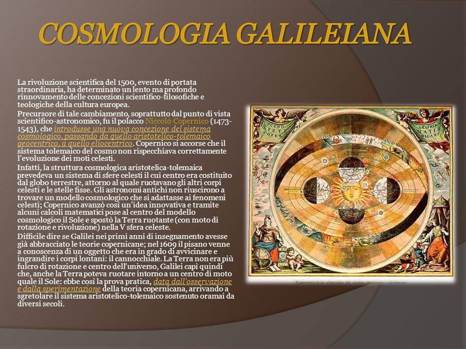 Cosmologia galileiana