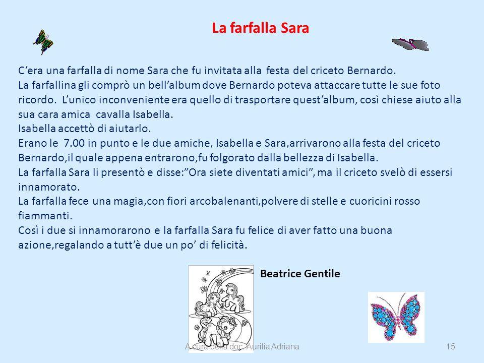 A cura della doc. Aurilia Adriana