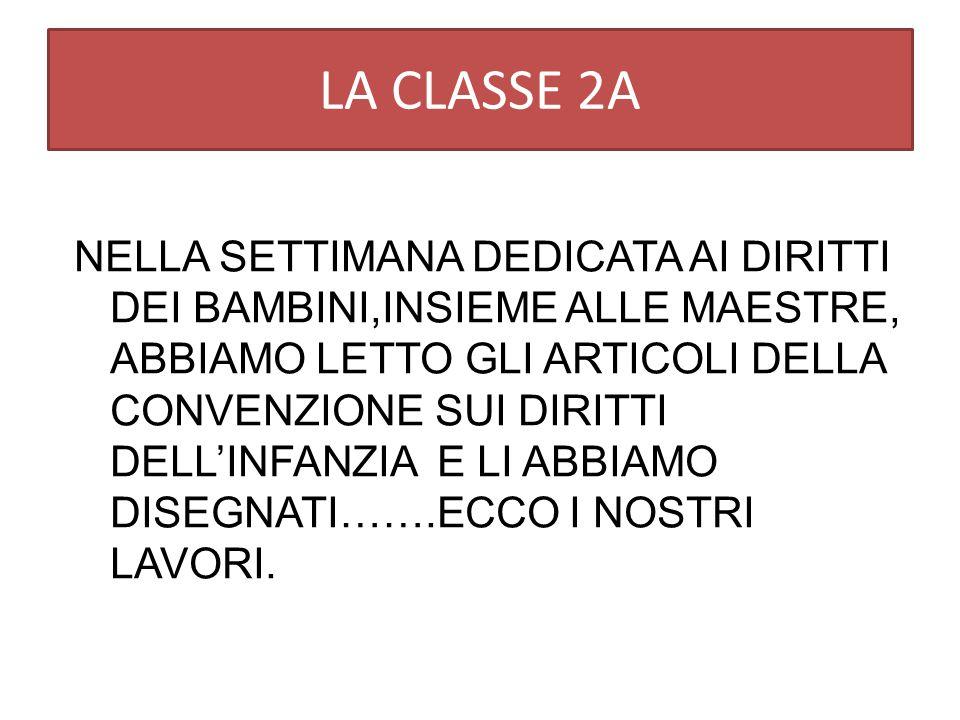 LA CLASSE 2A