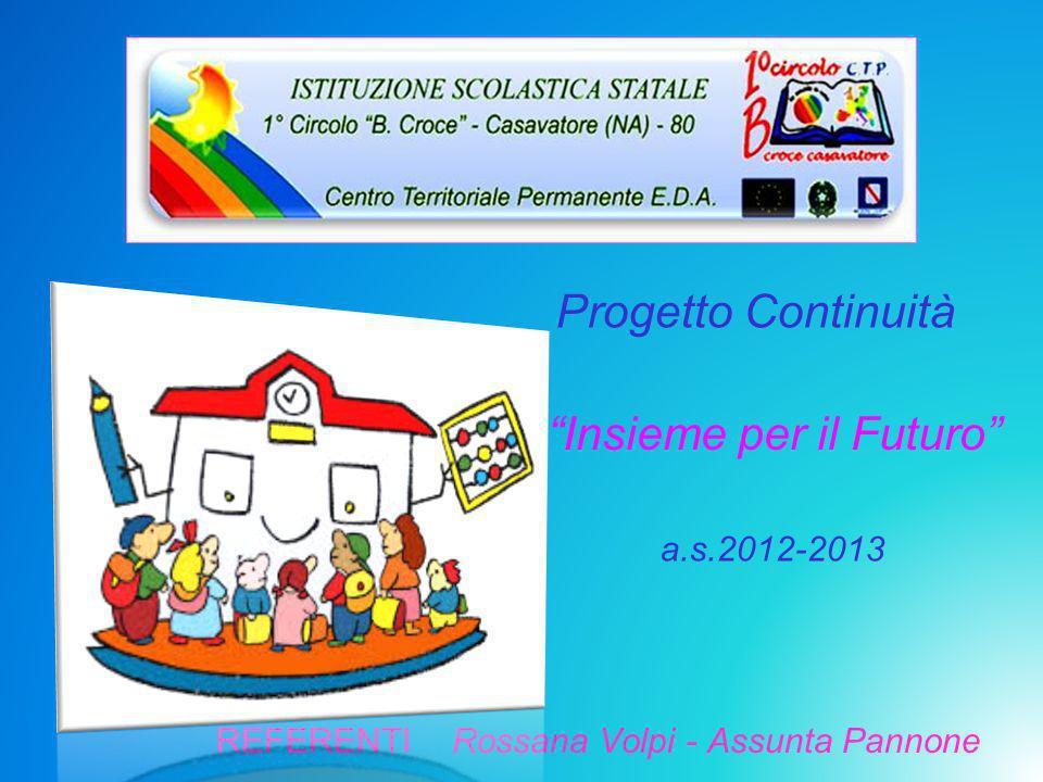 Progetto Continuità a.s.2012-2013