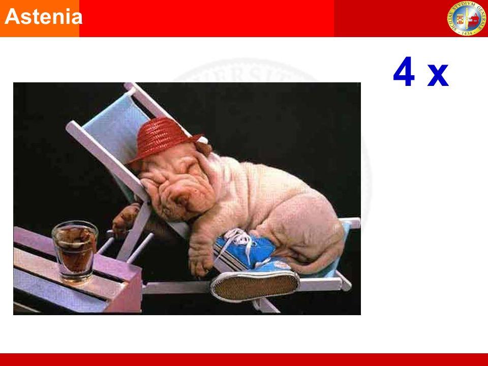 4 x Astenia Produzione di feci cremose AGA1998 Disturbo intestinale