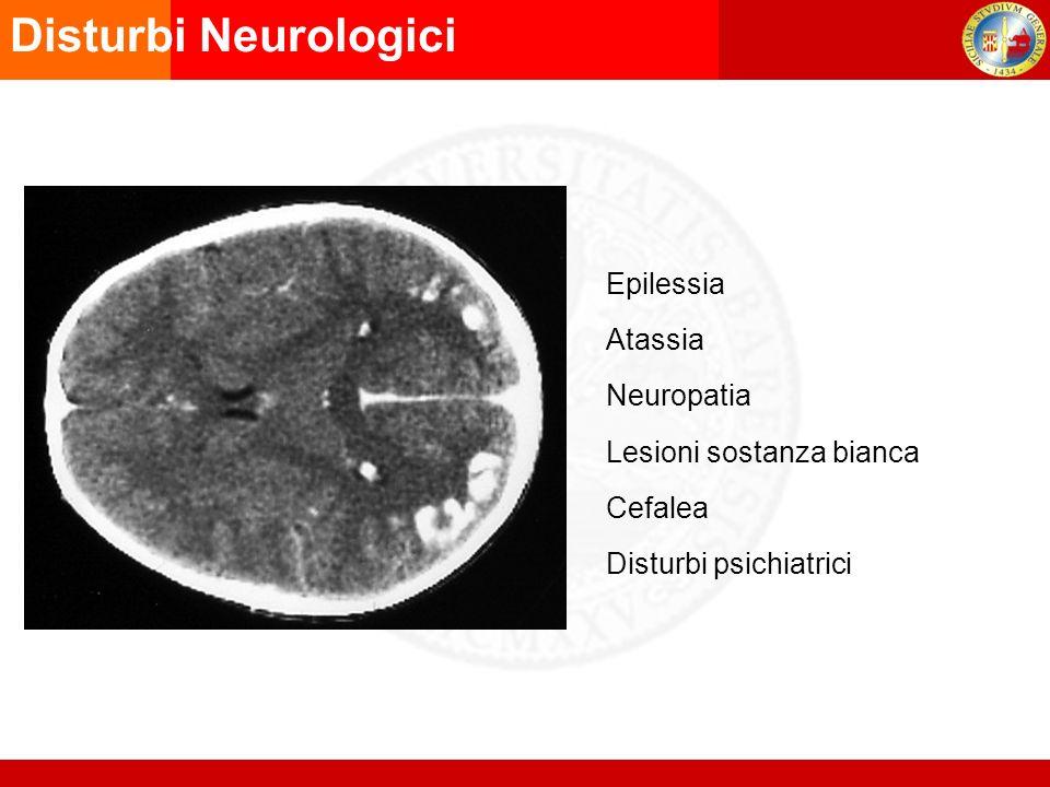 Disturbi Neurologici Epilessia Atassia Neuropatia