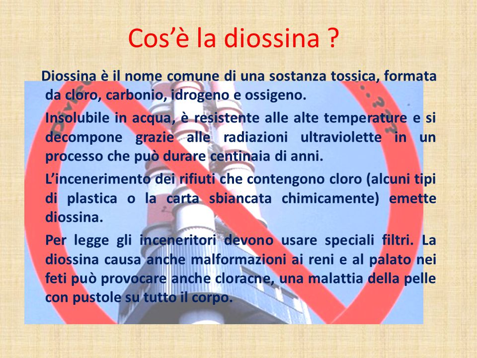 Cos'è la diossina