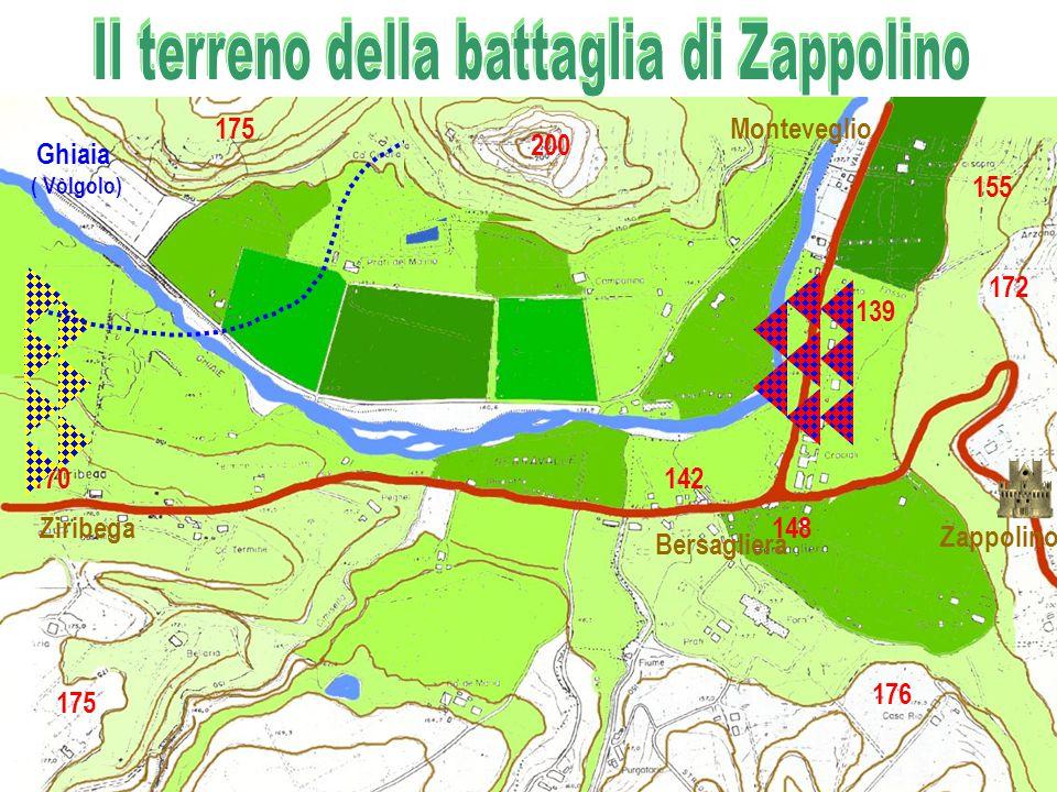 Il terreno della battaglia di Zappolino