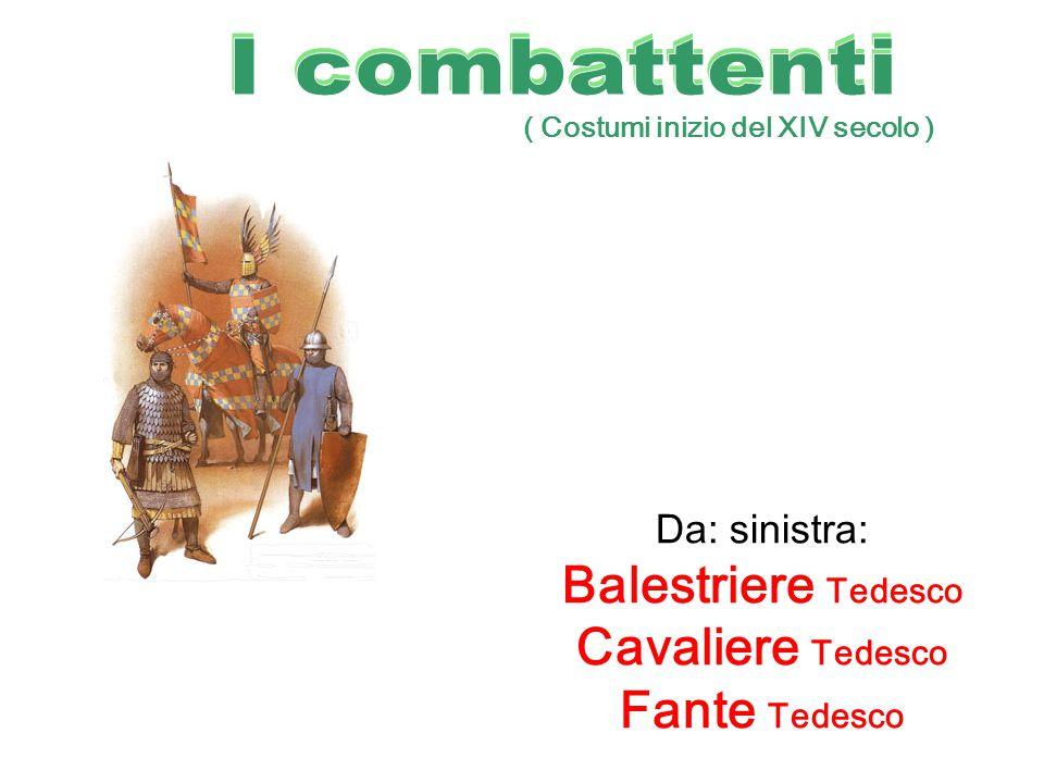 Balestriere Tedesco Cavaliere Tedesco Fante Tedesco