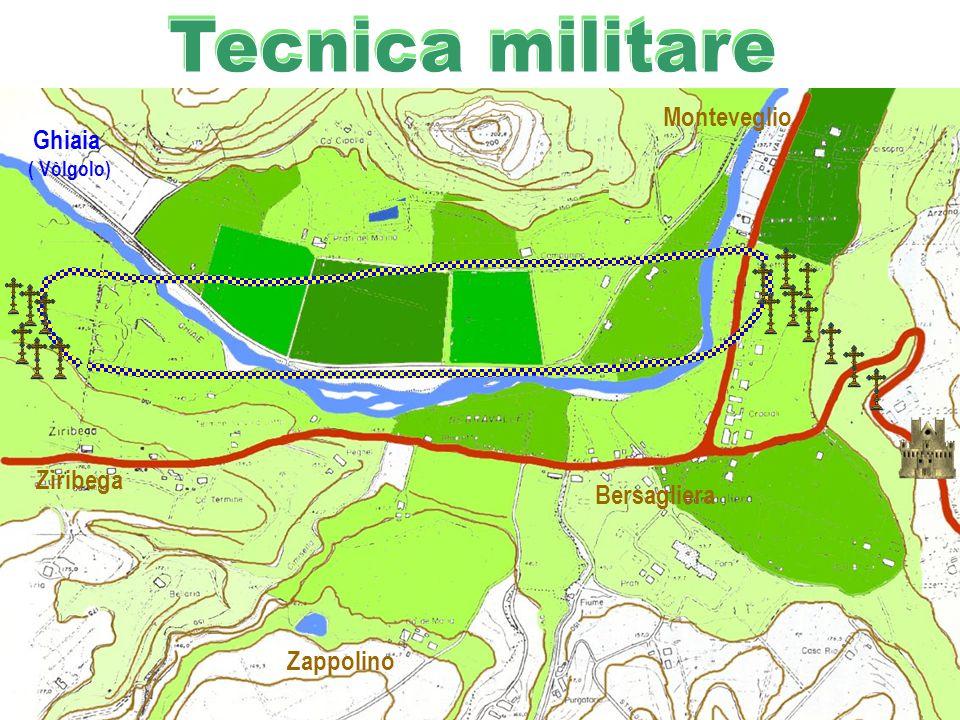 Tecnica militare Monteveglio Ghiaia Ziribega Bersagliera Zappolino