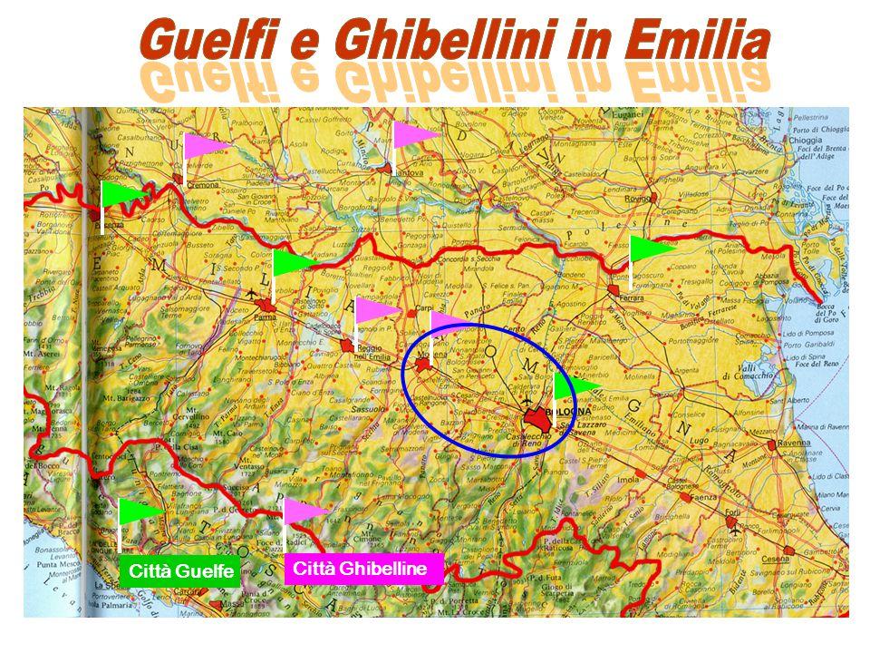Guelfi e Ghibellini in Emilia Guelfi e Ghibellini in Emilia