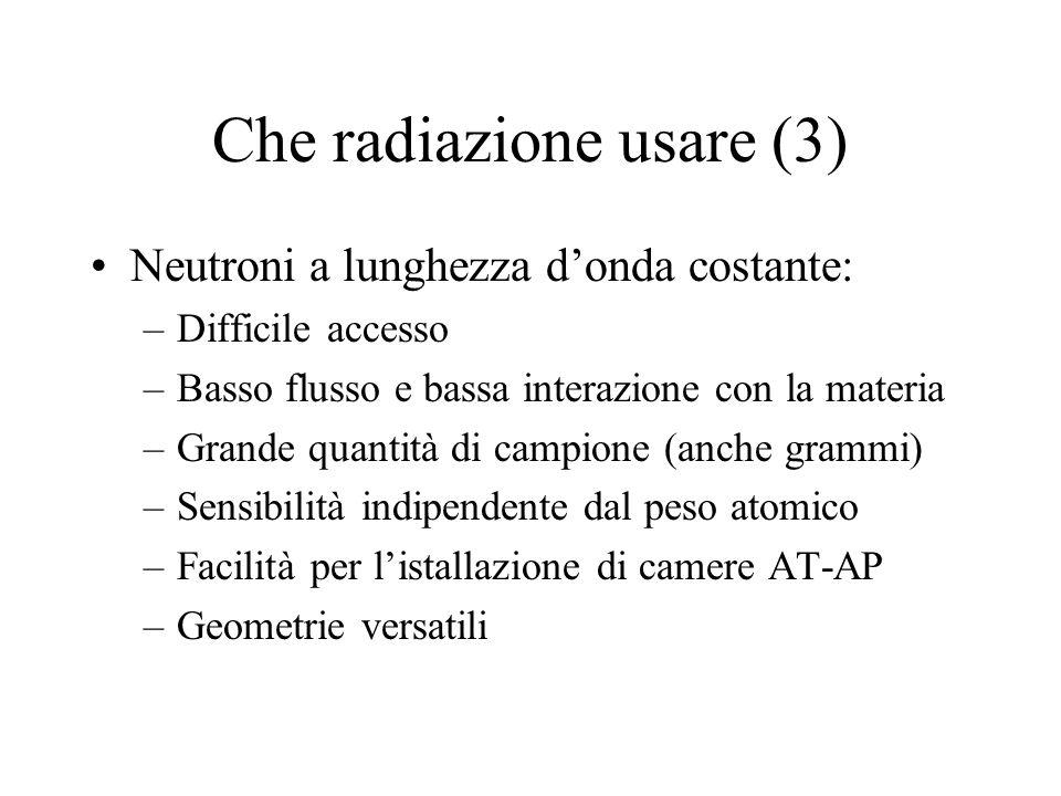Che radiazione usare (3)