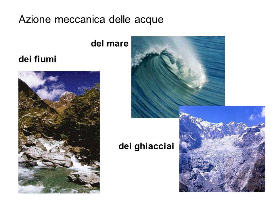 Azione meccanica delle acque