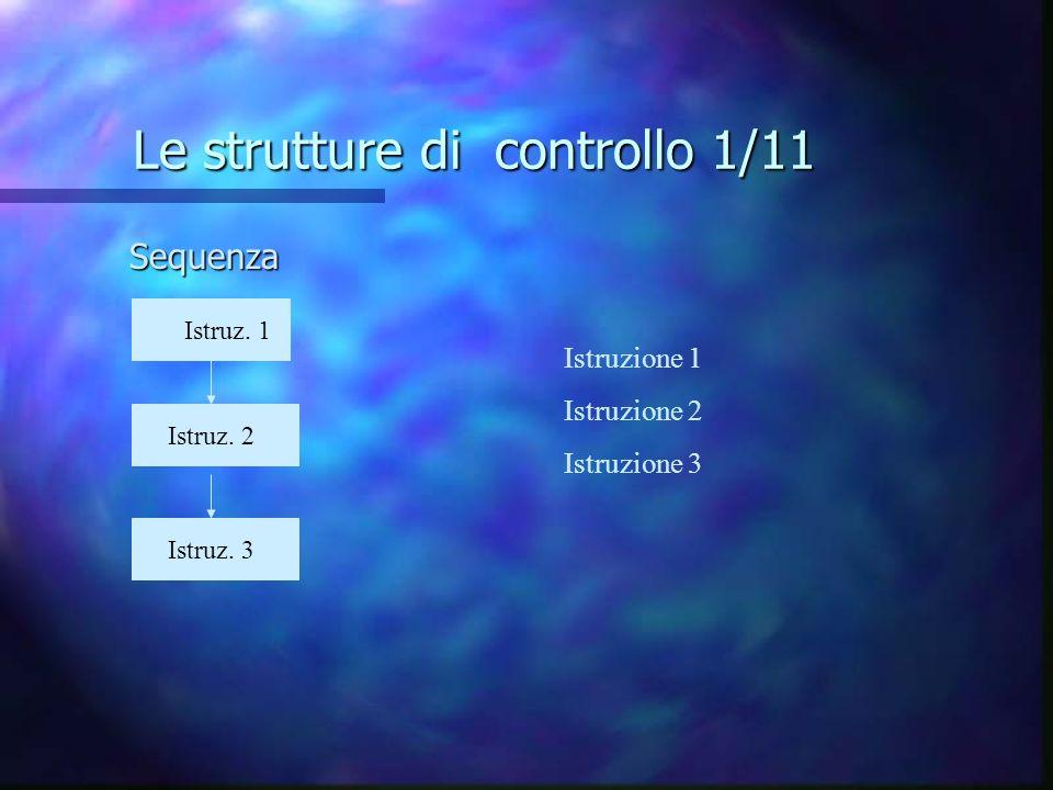 Le strutture di controllo 1/11