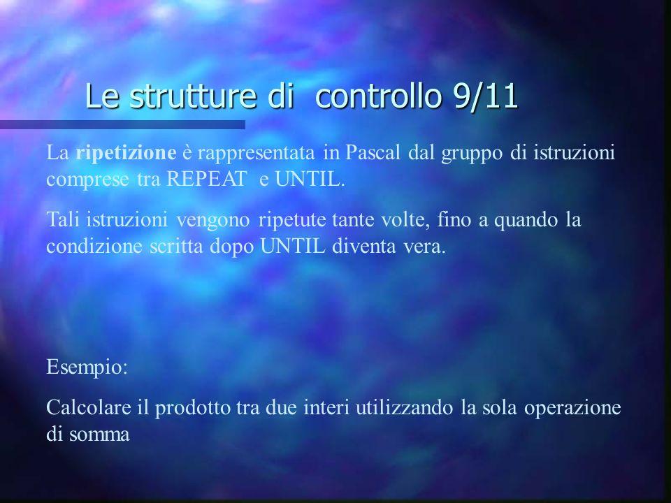 Le strutture di controllo 9/11