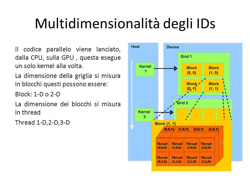 Multidimensionalità degli IDs
