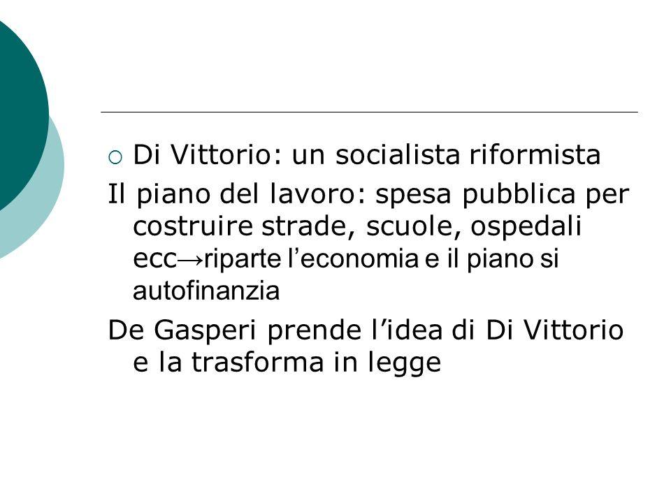 Di Vittorio: un socialista riformista