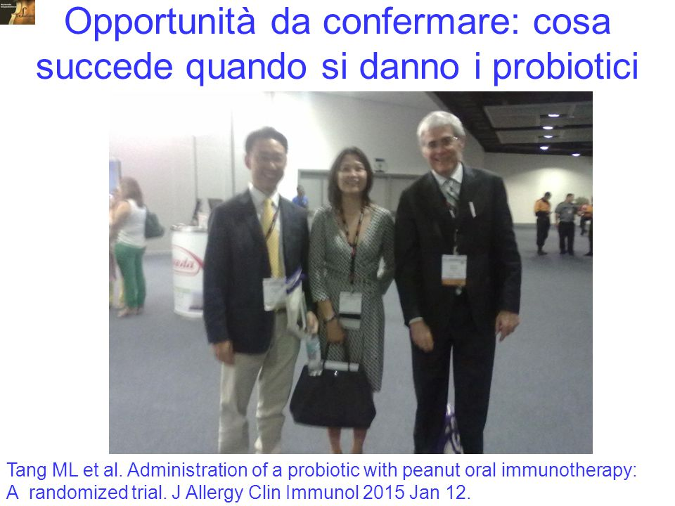 Opportunità da confermare: cosa succede quando si danno i probiotici