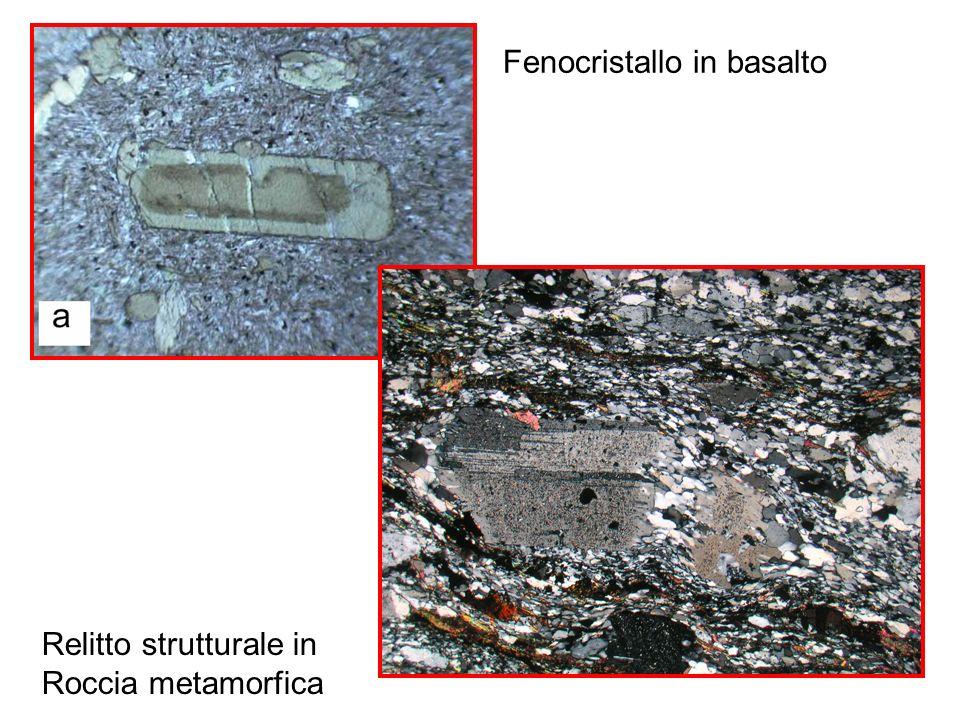 Fenocristallo in basalto