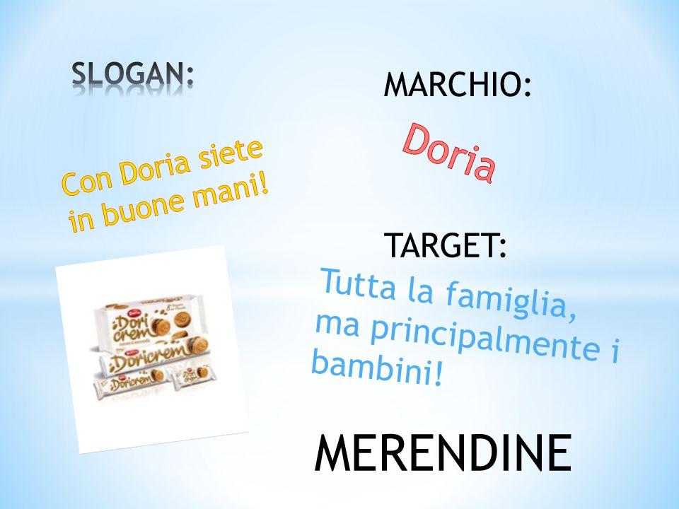 Con Doria siete in buone mani!