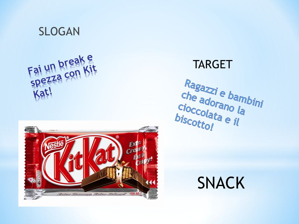 Fai un break e spezza con Kit Kat!
