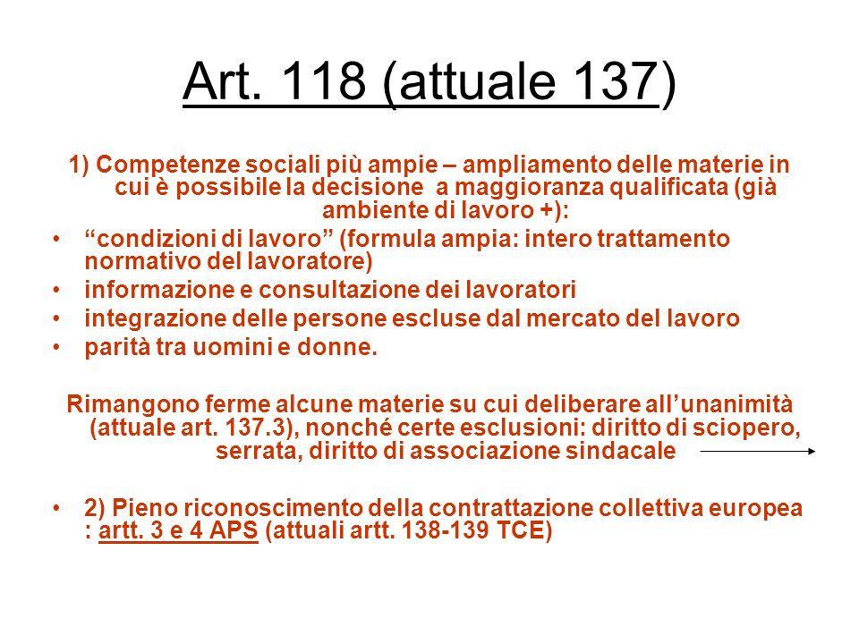 Art. 118 (attuale 137)