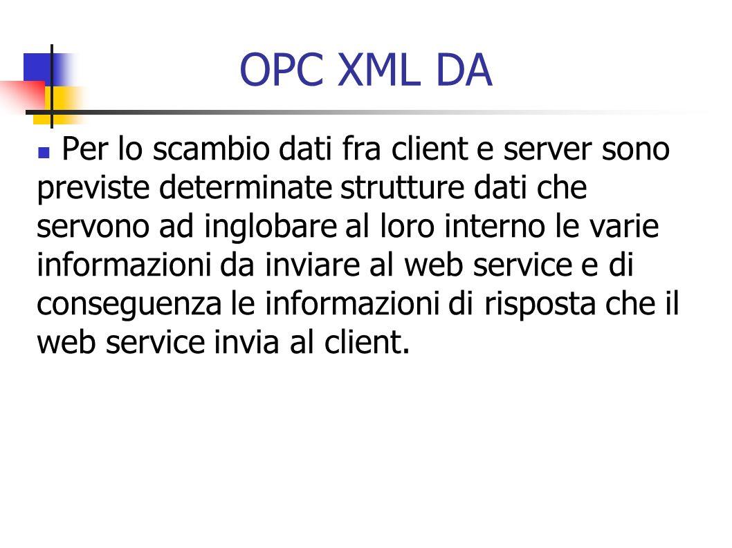 OPC XML DA